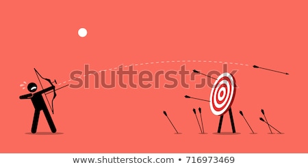 Target Shooting Man Stock photo © lenm