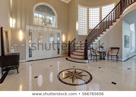 marble staircase stock photo © antonihalim