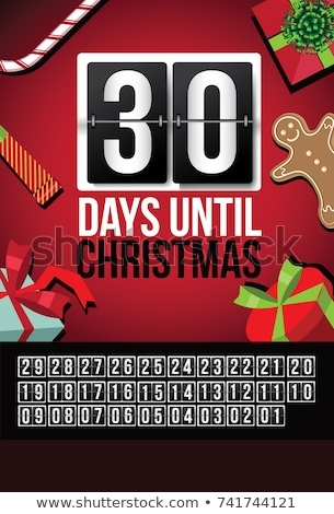 Christmas Countdown stock photo © yuyang