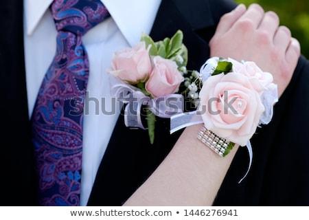 baile · boda · flor · primavera · mano · moda - foto stock © vanessavr