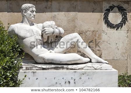 Görögország közelkép utazás szobor kultúra görög Stock fotó © ankarb