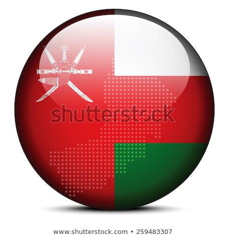Térkép pont minta zászló gomb Omán Stock fotó © Istanbul2009