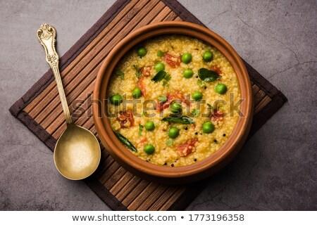 テクスチャ ひびの入った 小麦 素朴な 小麦粒 ストックフォト © ozgur