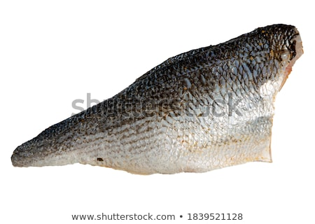 Perch fillets with skin and scales Stock photo © Mps197