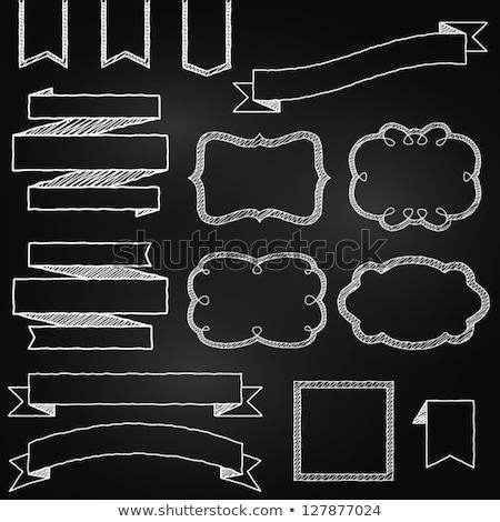 unidade · fita · esboço · ícone · teia · móvel - foto stock © rastudio