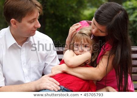 родителей плачу девушки ходьбы лет Сток-фото © Paha_L