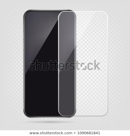 Telefoon beschermd eps 10 telefoon veiligheid Stockfoto © ayaxmr