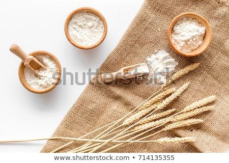 spoon of wheat flour stock photo © digifoodstock