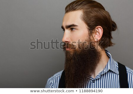 A profile head shot of a young boy Stock photo © IS2