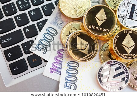 Ethereum cryptocurrency coinage Stock photo © stevanovicigor