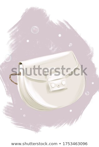 Cute Mode Handbag Isolated on White Background Stock photo © robuart