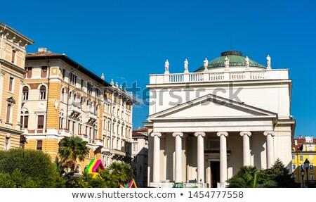 Church of Sant Antonio Taumaturgo in Trieste, Italy Stock photo © boggy