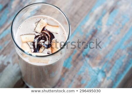 Kancsó kókusztej friss kókusz étel háttér Stock fotó © Alex9500