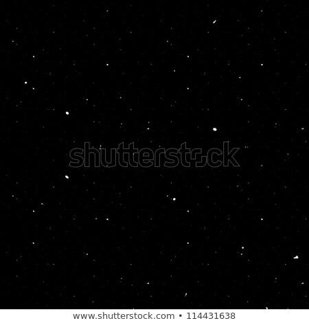 Seamless Starfield with Glowing Stars at Night Stock photo © kayros
