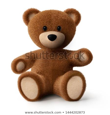 3d juguete alegre mullido tener Foto stock © karelin721