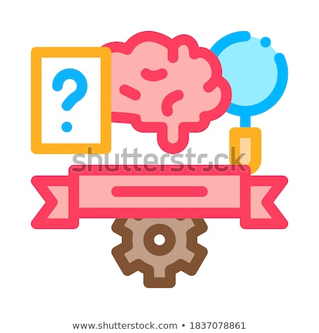Physical Subjects Graduation Icon Vector Outline Illustration Stock photo © pikepicture