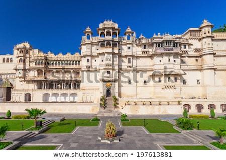 City Palace complex. Udaipur, Rajasthan, India Stock photo © dmitry_rukhlenko