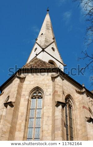 Ancient parish church of Gries Stock photo © aladin66
