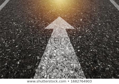 pijlen · race · succes · wijzend · team · witte - stockfoto © 4designersart
