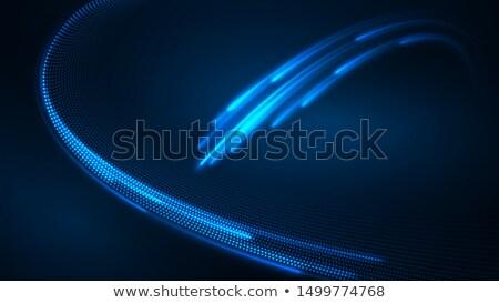 аннотация · темно · синий · свет - Сток-фото © latent