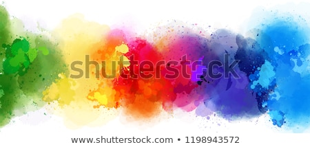 abstract colorful rainbow smoke background Stock photo © pathakdesigner