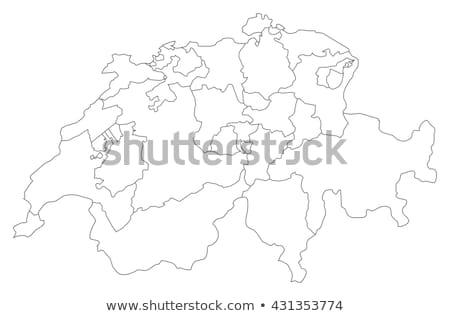 harita · siyasi · birkaç · soyut · dünya · arka · plan - stok fotoğraf © Schwabenblitz