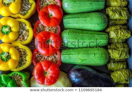 stuffed vegetable with meat Stock photo © M-studio