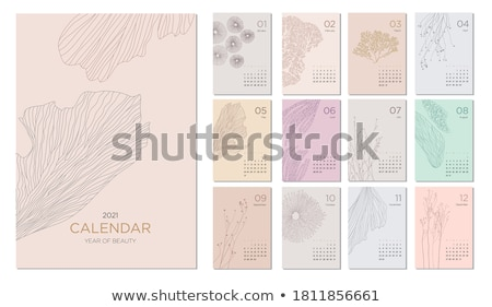 Abstract Background (Floral Theme). Vector Illustration. Stock photo © fixer00