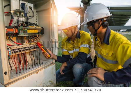 Training to be an electrician Stock photo © photography33