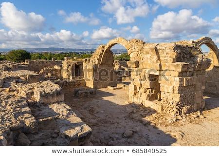 ruins of saranda kolones paphos cyprus stock photo © snapshot