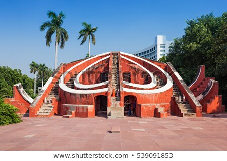 Astronomical observatory Jantar Mantar in Delhi Stock photo © meinzahn
