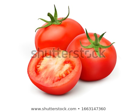 Tomato segment isolated on white background. Stock photo © Leonardi