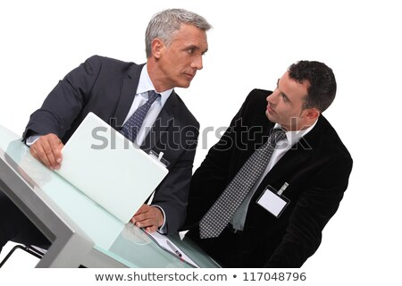 Two businessmen awaiting conference Stock photo © photography33