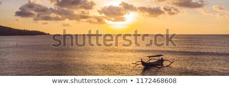 Balinese landscape Stock photo © joyr
