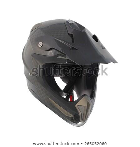 モトクロス 保護 ブーツ ヘルメット オートバイ ストックフォト © Kor