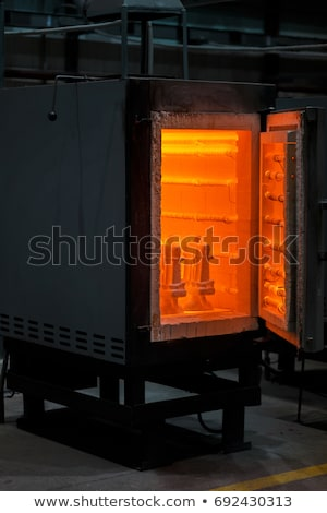 door to furnace Stock photo © Sarkao