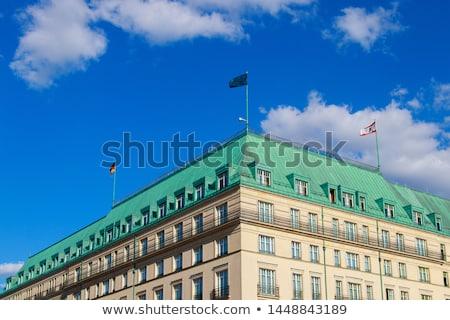 Berlin mondai hotel építészet Európa luxus Stock fotó © meinzahn