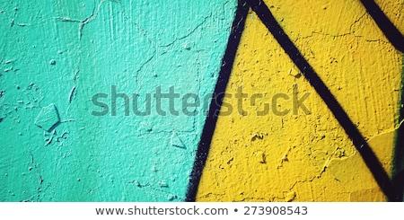 Graffiti grunge concretas pared urbanas Foto stock © stevanovicigor