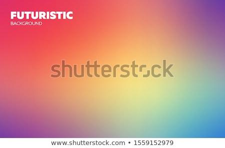 モザイク 青 ベクトル 壁 ガラス ストックフォト © aliaksandra