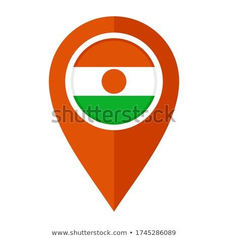 ニジェール · 共和国 · アフリカ · マップ · プラス · 余分な - ストックフォト © mayboro