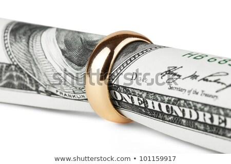 much wedding rings Stock photo © konturvid