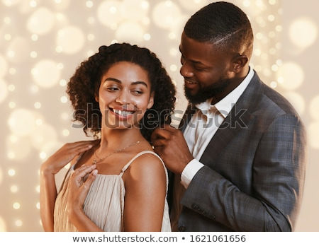 Mulher diamante colar bela mulher brilhante Foto stock © dolgachov