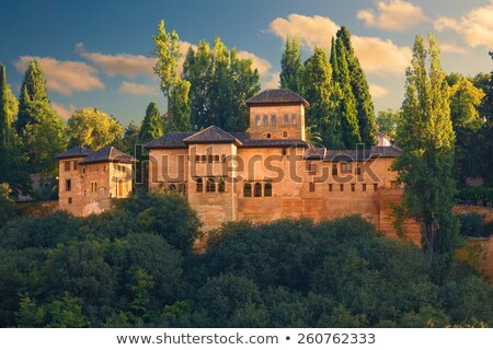 View of Partal in Alhambra in Granada  in Spain Stock photo © backyardproductions