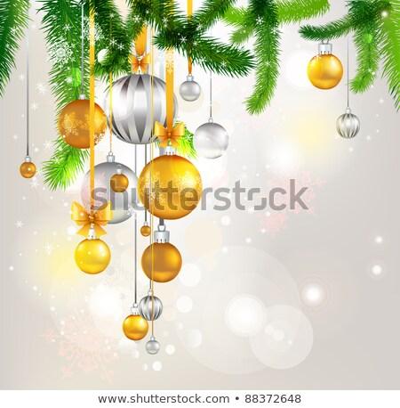Christmas bauble composition. EPS 10 Stock photo © beholdereye