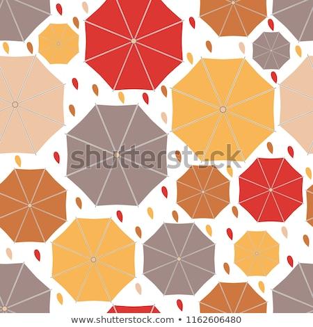 傘 · パターン · 子供 · 空 - ストックフォト © beholdereye