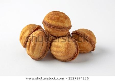 Nutty cookies Stock photo © Digifoodstock