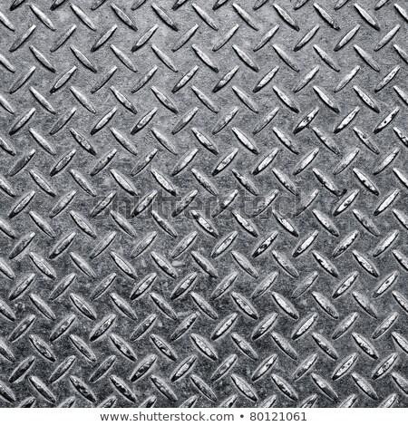 Rusty diamondplate background texture Stock photo © njnightsky