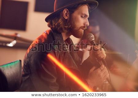 Stok fotoğraf: Müzisyenler · müzik · konser · gece · kulübü · parti