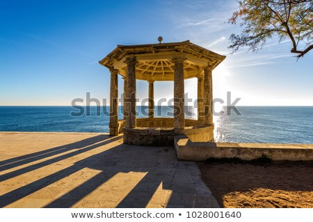Nice resting area in Costa Brava, near small holiday village Sagaro, country Spain Stock photo © digoarpi