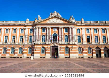 Place du capitole Toulouse Stock photo © ldambies